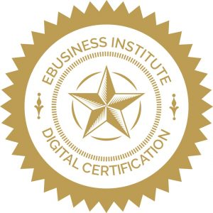 eBusiness Institute Australia certificate in digital marketing